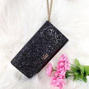 🎉SALE🎉NEW Kate Spade Milou Glitter Wallet Clutch